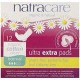 Absorbante Ultra Extra de noapte (3 picaturi) - Natracare normal 12buc