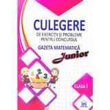 Culegere de exercitii si probleme pentru Concursul Gazeta Matematica Junior (cls. 1), editura Didactica Publishing House