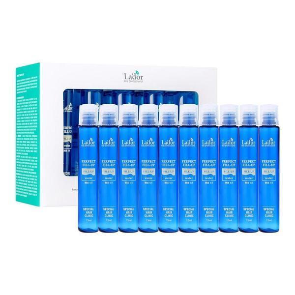 Set 10 fiole pentru regenerarea structurii părului, Lador Perfect Hair Filler, 13 ml X 10