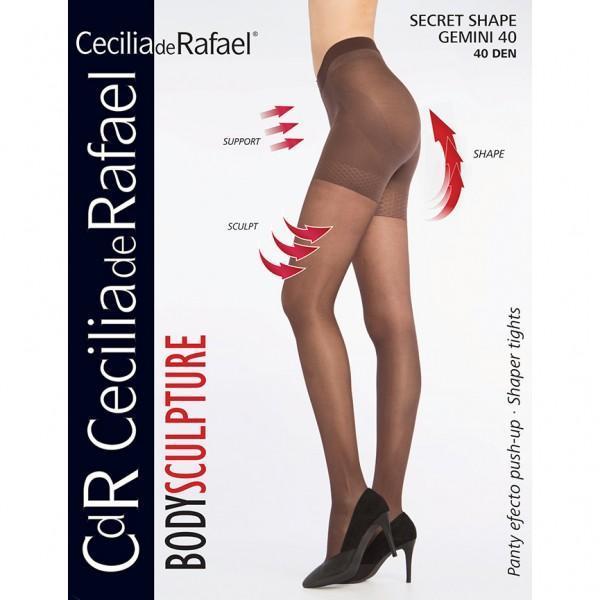 Dres modelator, Cecilia De Rafael Secret shape gemini, 40 den negru 2 (s)