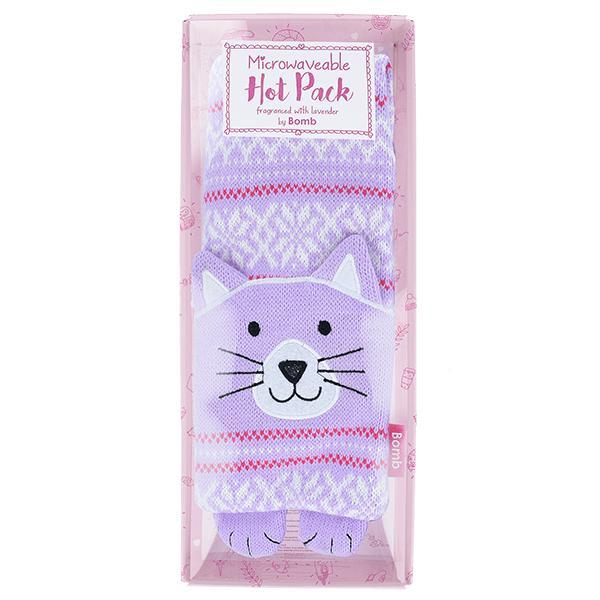Saculet incalzit aromat pentru gat, Clarissa the Cat, Bomb Cosmetic 950 g