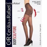 Dres modelator, Cecilia De Rafael Secret shape gemini, 40 den negru 5 (xl)