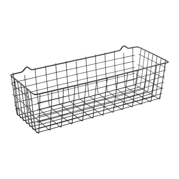 Cos multifunctional pentru organizare si depozitare, negru, 33x12x9 cm – Maxdeco