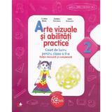 Arte vizuale si abilitati practice cls 2 caiet - Cristina Rizea (editie revizuita si completata), editura Litera