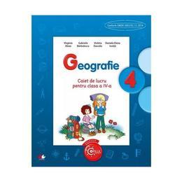 Geografie cls 4 caiet - Virginia Alexe, Gabriela Barbulescu, editura Litera
