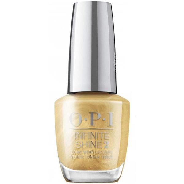 Lac de Unghii - OPI Nail Lacquer, Shine Bright This Gold Sleighs Me, 15ml esteto.ro
