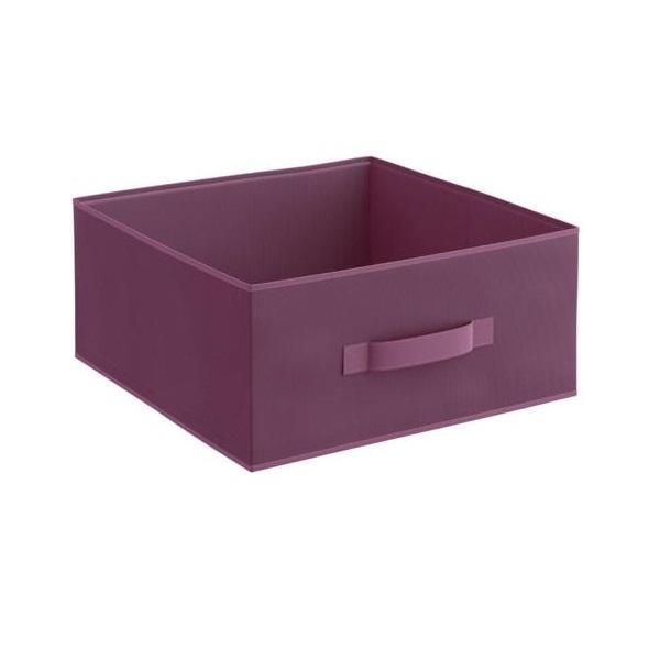 Organizator pentru dulap sau sertar 31x31x15 cm, violet – Maxdeco