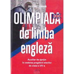 Olimpiada de limba engleza cls 7 - Cristina Lungan, editura Rovimed