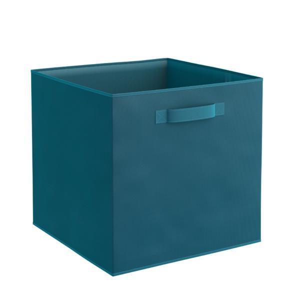 Organizator pentru dulap sau sertar 31x31x31 cm, turcoaz – Maxdeco
