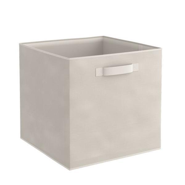 Organizator pentru dulap sau sertar 31x31x31 cm, bej – Maxdeco