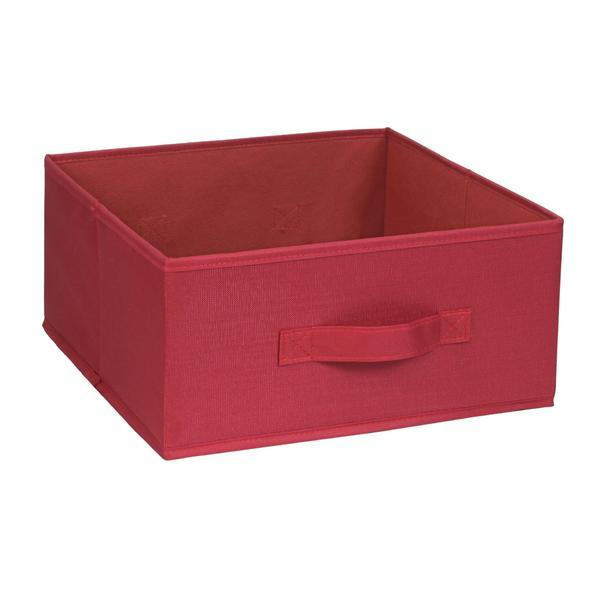 Organizator pentru dulap sau sertar 31x31x15 cm, rosu – Maxdeco