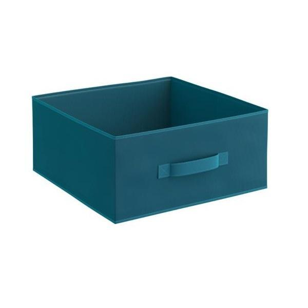 Organizator pentru dulap sau sertar 31x31x15 cm, turcoaz – Maxdeco