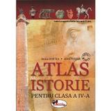 Atlas de istorie - Clasa a 4-a - Doina Burtea, Alina Pertea, editura Aramis