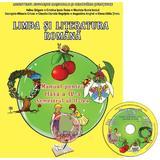 Romana - Clasa a 4-a. Sem. 2 - Manual + CD - Adina Grigore, editura Ars Libri