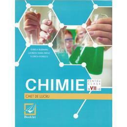 Chimie - Clasa a 7-a - Caiet de lucru - Izabela Bejenariu, Lucretia Papuc, Florica Popescu, editura Booklet