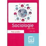 Memorator de sociologie pentru liceu Ed.2017 - Adrian Tiglea, editura Booklet
