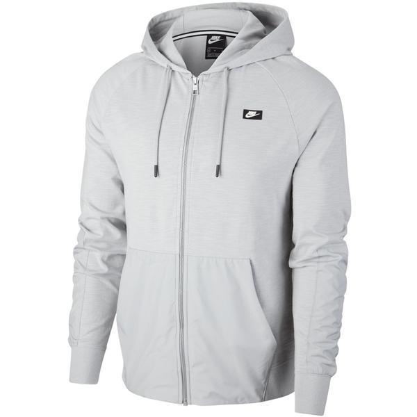 Hanorac barbati Nike Sportswear Full-Zip Hoodie CI9584-077, XXL, Gri