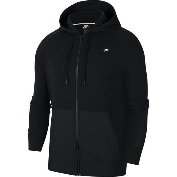 Hanorac barbati Nike Sportswear Full-Zip Hoodie CI9584-011, S, Negru