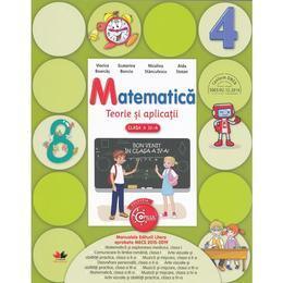 Matematica cls 4 teorie si aplicatii - Viorica Boarcas, editura Litera