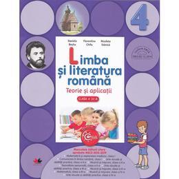 Limba si literatura romana cls 4 teorie si aplicatii - Daniela Besliu, editura Litera