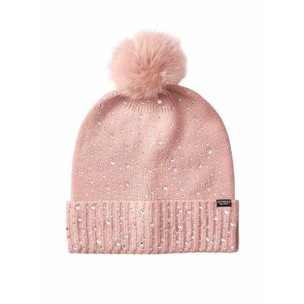 Caciula, Pom Pom Luxe Blush, Victoria's Secret