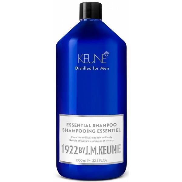 Sampon 2 in 1 pentru Toate Tipurile de Par - Keune Essential Shampoo Distilled for Men, 1000 ml