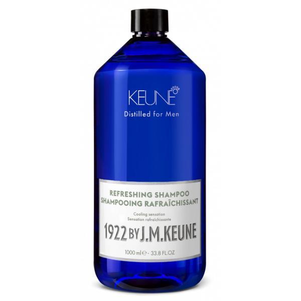 Sampon Revigorant pentru Barbati - Keune Refreshing Shampoo Distilled for Men, 1000 ml