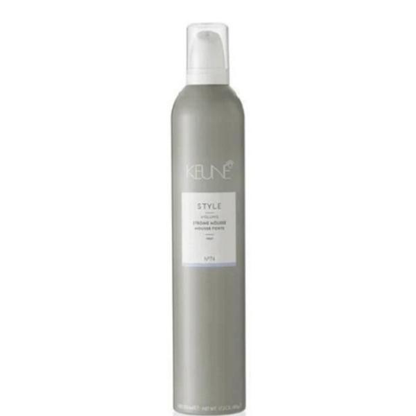 Spuma pentru Volum si Fixare Foarte Puternica - Keune Style Strong Mousse, 500 ml