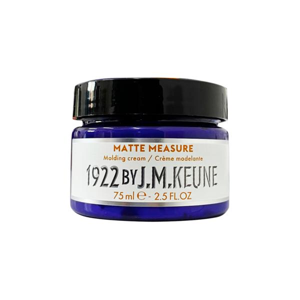 Pasta Mata pentru Modelarea Parului - Keune Matte Measure Molding Cream Distilled for Men, 75 ml