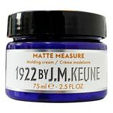 Pasta Mata pentru Modelarea Parului - Keune Matte Measure Molding Cream Distilled for Men, 75 ml