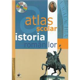 Atlas scolar. Istoria romanilor + CD, editura Steaua Nordului
