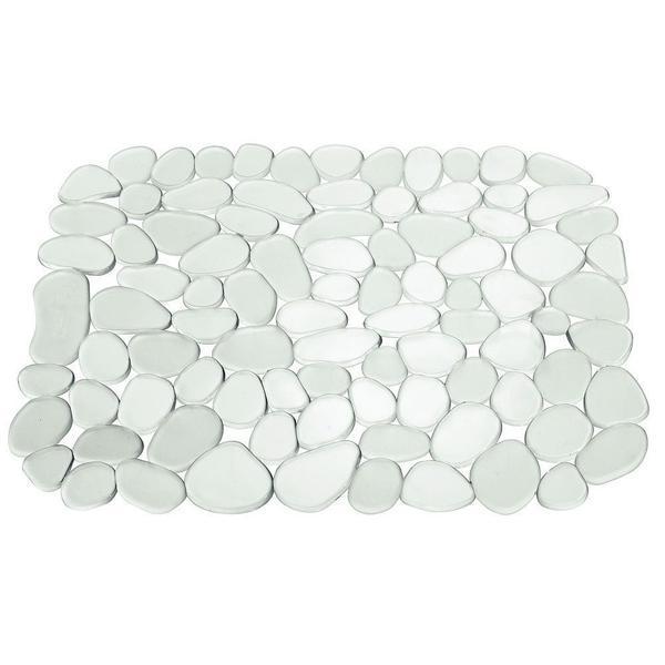 Covoras protectie chiuveta dreptunghiular 40 x 30 cm, alb