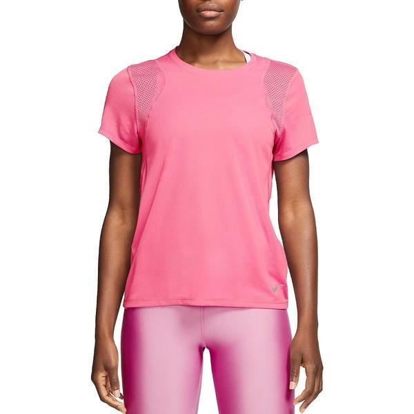 Tricou femei Nike Dri-Fit Run Tee 890353-607, XS, Roz