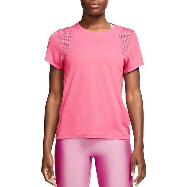 Tricou femei Nike Dri-Fit Run Tee 890353-607, XL, Roz