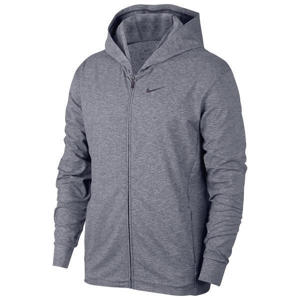Hanorac barbati Nike Full-Zip Yoga BQ2864-056, XXL, Gri