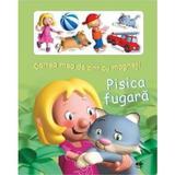Pisica fugara - Cartea mea de citit cu magneti, editura Prut