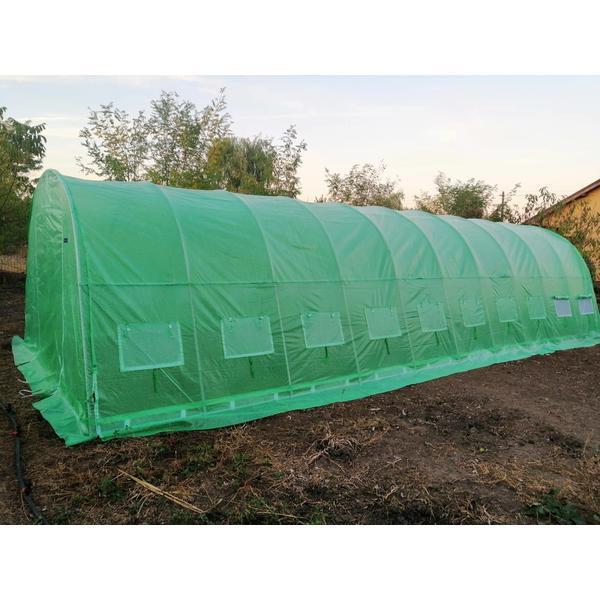 Solar de gradina 4×10 m, teava galvanizata – Solarii24