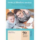Limba romana. Ghid complet pentru Evaluare Nationala - Clasa 8 - 90 de teste - Alina Curcan, Marinela Pantazi, editura Booklet