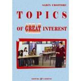 Topics of great interest - Sabin Croitoru, editura Carminis