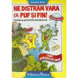 Ne distram vara cu Puf si Fin! - Clasa a 3-a - Daniela Bulai, editura Diana