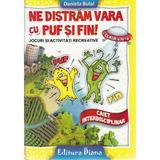 Ne distram vara cu Puf si Fin! - Clasa a 4-a - Daniela Bulai, editura Diana