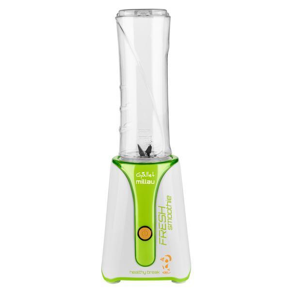 Blender Smoothie maker GALLET MILLAU MS590, 350 W, bol 600 ml BPA free, alb cu verde