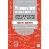 Matematica - Clasa 9 - Breviar teoretic (filiera teoretica, profilul real, stiinte, filiera tehnologica) - Petre Simion, editura Niculescu