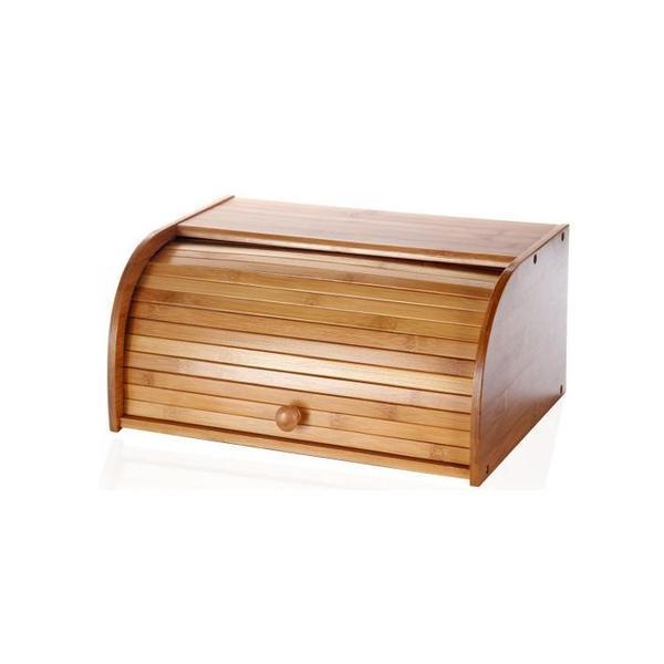 Cutie depozitare paine, din bambus 40 x 27,5 x 16,5 cm