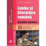 Limba romana - Clasa 8 - Caiet. Evaluare nationala (33 de variante de subiecte) - Virginia Olaru, editura Niculescu