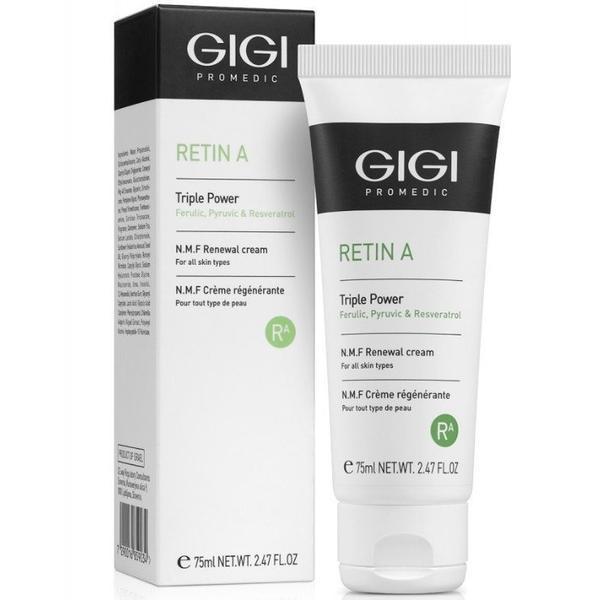 Crema hidratanta cu retinol toate tipurile de ten retinol A gigi 75ml