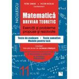 Matematica - Clasa 11 - Breviar teoretic (filiera teoretica, profilul real, stiinte ale naturii) - Petre Simion, editura Niculescu