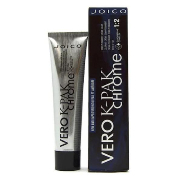 Vopsea Profesionala Par Fara Amoniac - Joico Vero K-Pak Chrome N1(Black Amethyst) 60ml