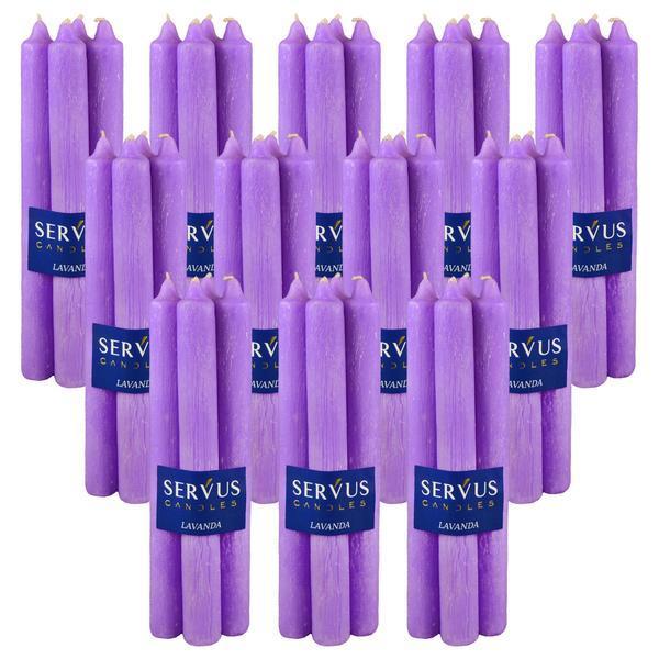 Bax 48 Lumanari Parfumate Lavanda , 2,2*22 CM