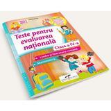 Teste pentru Evaluarea nationala. Limba romana. Matematica - Clasa 4 - Daniela Barbu, editura Cd Press